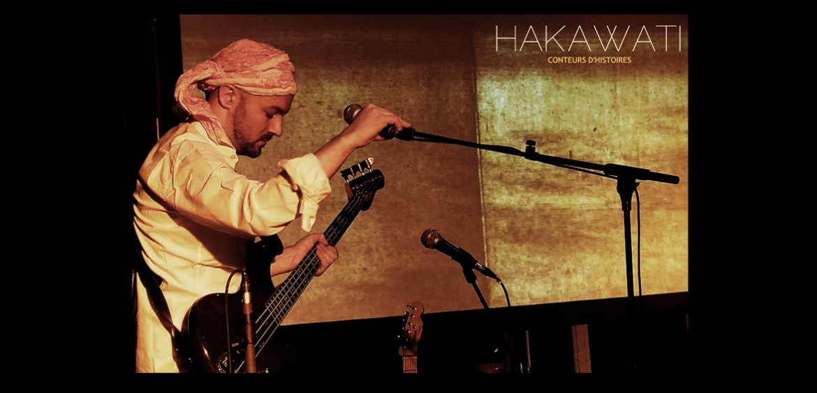 Performance Hakawati by Julien Tatham