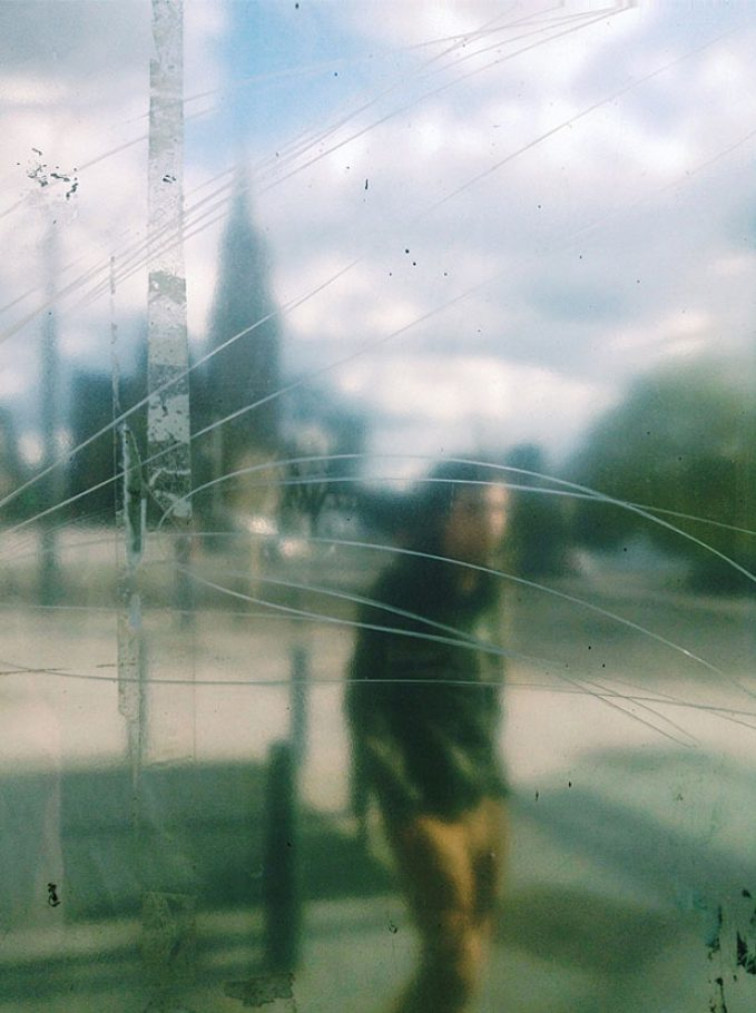Crossing out by Julien Tatham - 2015