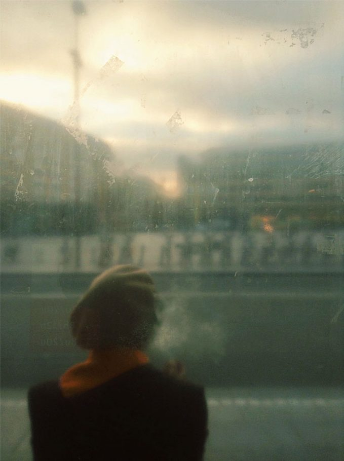 First morning cigarette by Julien Tatham - 2014