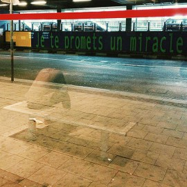 """I promise you a miracle"" photo by Julien Tatham"