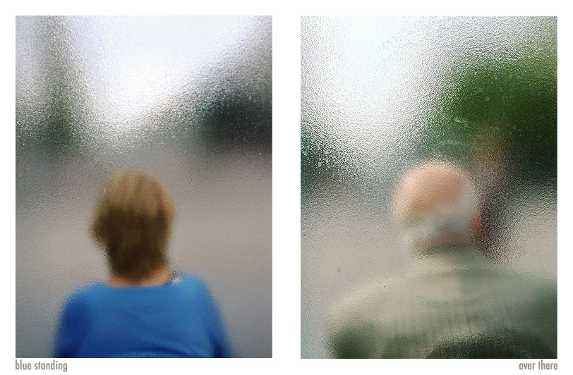 """Blue Standing"" & ""Over There"", photographies by Julien Tatham"