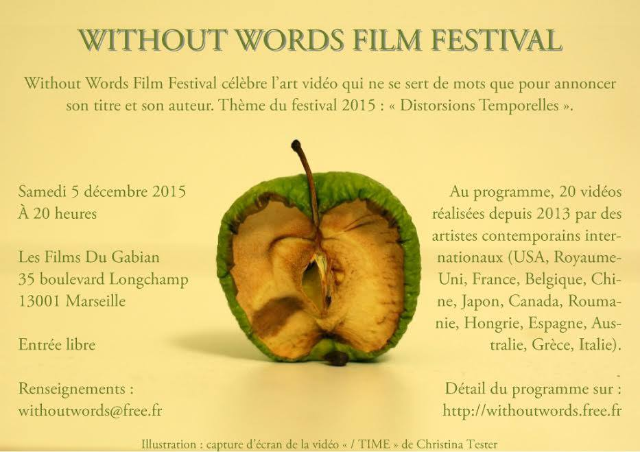 """Us Stop"" by Julien Tatham selected to the Without words Film Festival"
